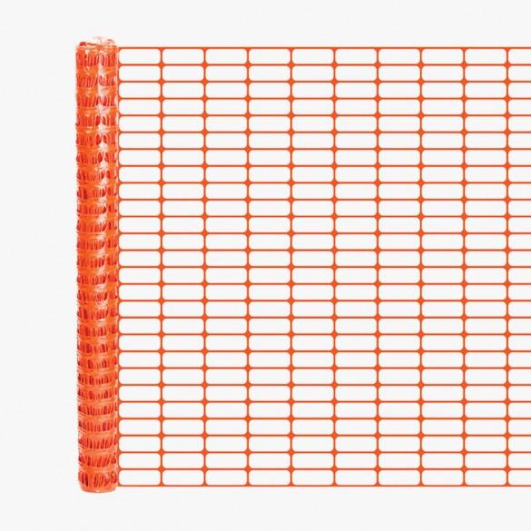 Resinet OL3548100 Oriented Barrier Fence 4' x 100' Roll (Orange)