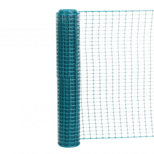 Resinet SLM4548100 - Standard Square Mesh Construction Barrier Fence (4' x 100' Roll) - Green