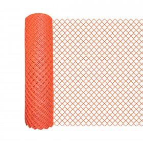Resinet DM5044850 - Diamond Mesh Crowd Control Barrier Fence (4' x 50' Roll) - Green