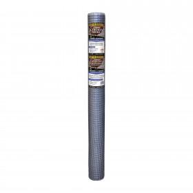 "Resinet PN36 - Plastic Poultry Garden Fence Netting - 0.50"" x 0.50"" Sq. Mesh (3' x 50' Roll) - Silver"
