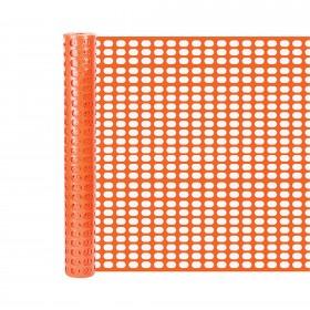 Resinet SF504850 - Heavy Duty Oval Mesh Snow Control Fence (4' x 50' Roll) - Orange