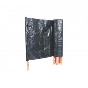 Resinet Industrial Grade Erosion Control Silt Fence With Posts (3' x 100') - SLT36100
