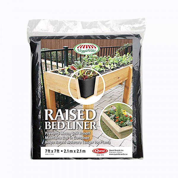 Quest Raised Bed Liner 7' x 7' - RBL77