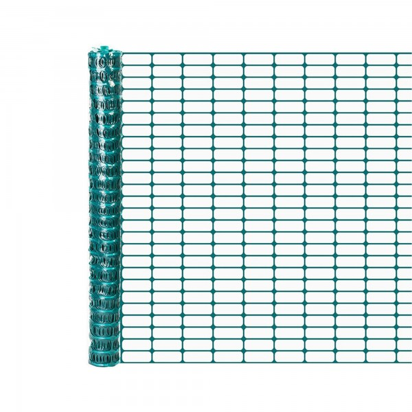 Resinet OL3048100 Lightweight Flat Oriented Barrier Fence 4' x 100' - Green