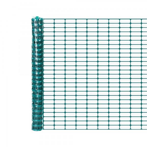 Resinet OL3048100 Lightweight Flat Oriented Barrier Fence 4' x 100' - Green