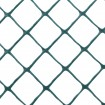 Resinet DM5044850 Diamond Mesh Barrier Fence 4' x 50' Roll - Green