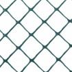 Resinet DM50448100 Diamond Mesh Barrier Fence 4' x 100' Roll - Green