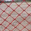 Resinet DM5044850 Diamond Mesh Barrier Fence 4' x 50' Roll - Orange