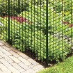 "Resinet HDF725 - 7' x 25' Biaxially Oriented Mesh Deer Fence - 3/4"" x 1/2"" Mesh (Black)"