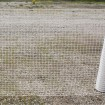 Resinet SLM404850 Square Mesh Barrier Fence 4' x 50' Roll - White