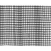 SM15 Specialty Square Mesh Barrier Fence Sample (Black Shown)